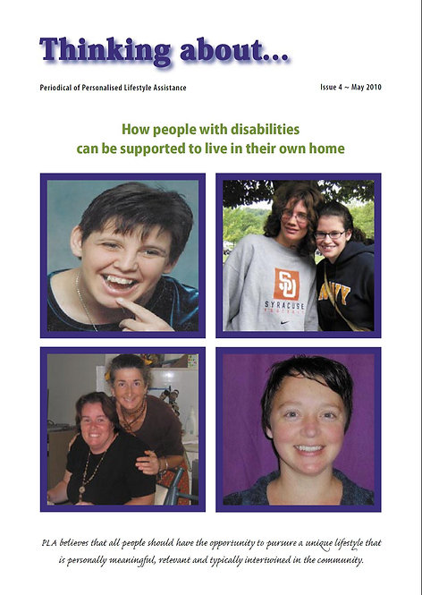 Periodical 4 - People with Disabilities & Home