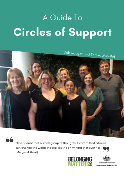 Circles of Support Guide & Workbook Digital Edition