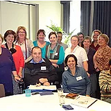 Image of Leadership Course attendees