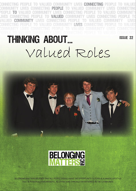 Periodical 22 - Valued Roles
