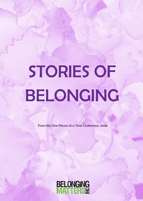 Stories of Belonging Vol 3