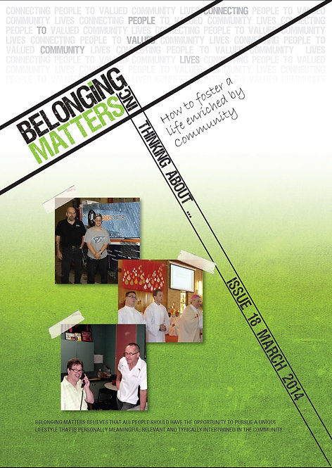 Periodical 18 - Life Enriched by Community