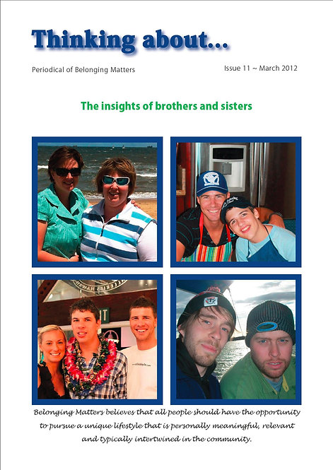 Periodical 11 - Insights of Brothers and Sisters