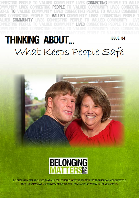 Periodical 34 - What Keeps People Safe
