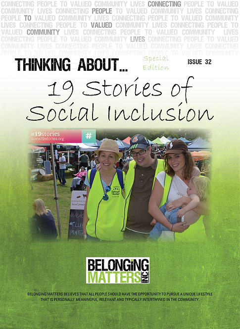 P 32 - 19 Stories of Social Inclusion Pt 1. Sp Ed