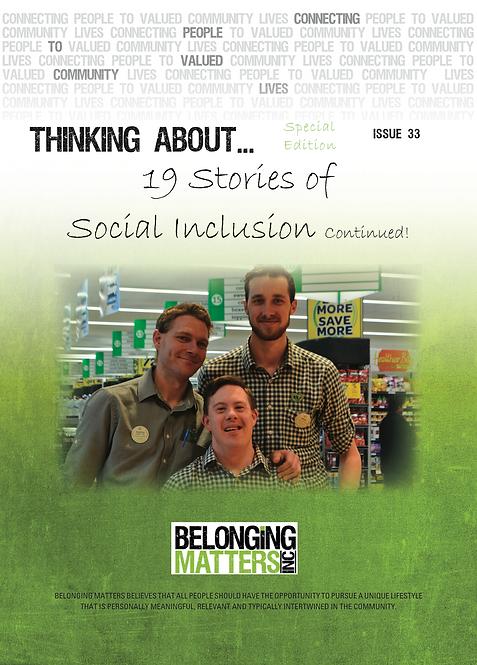 P 33 - 19 Stories of Social Inclusion Pt 2. Sp Ed