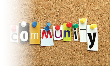 Image of - A community noticeboard