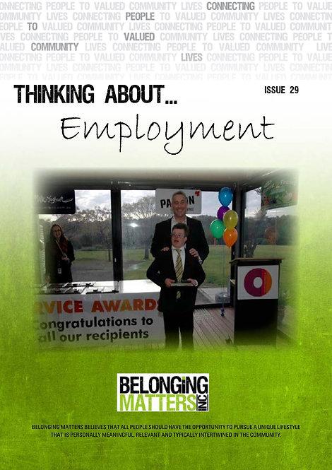 Periodical 29 - Employment