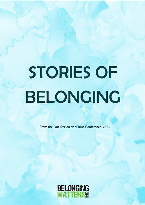Stories of Belonging Vol. 1