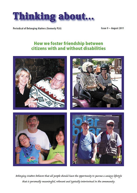 Periodical 9  - Fostering Friendships
