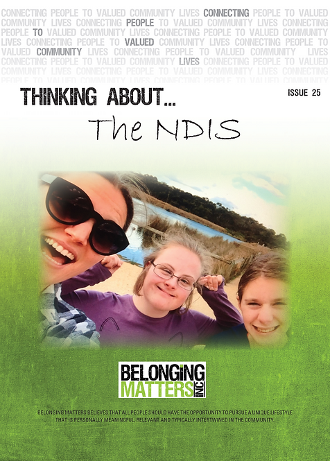 Periodical 25 - The NDIS
