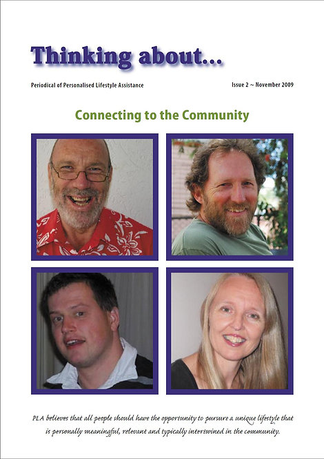 Periodical 2 - Connecting to the Community