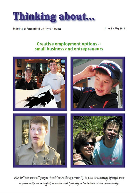 Periodical 8 - Creative Employment Options