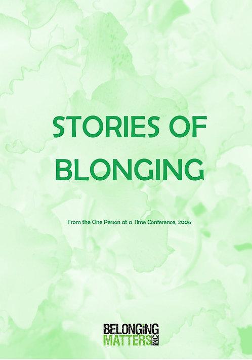 Stories of Belonging Vol 2