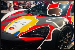 McLaren Custom Art Wrap