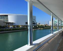Super Yacht Wraps Miami FL