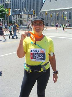 Sofie Andreou Half Marathons