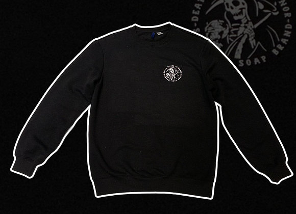 Small Death Before Dishonor logo sweater