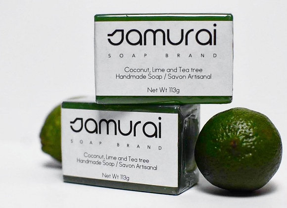 Coconut Lime & Tea Tree soap bar