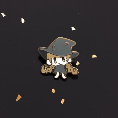 Witch Girl Enamel Pin