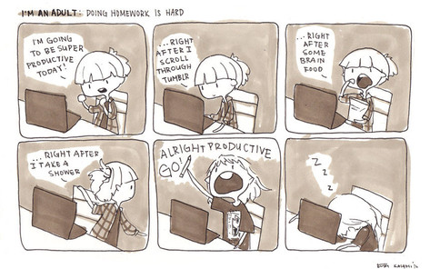 Im an Adult: doing homework is hard