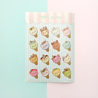Milky Parlor Stickers
