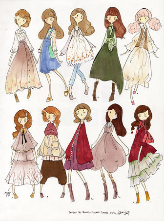 Forest Girl Childrens' Collection