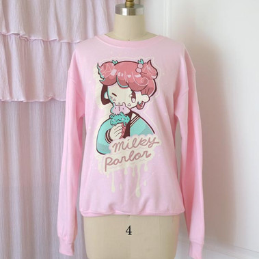 Milky Girl Sweatshirt