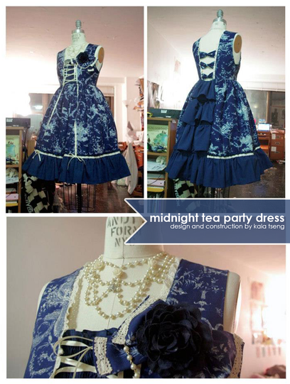 Midnight Tea Party Dress