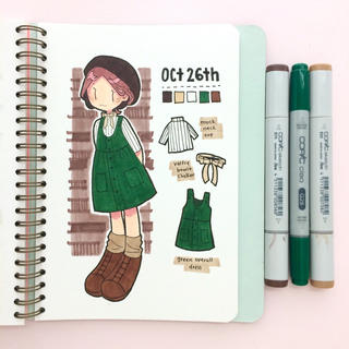 Inktober 2017 Outfit