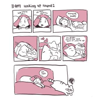 Hourly Comics Day 11am
