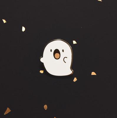 Ghosto Enamel Pin