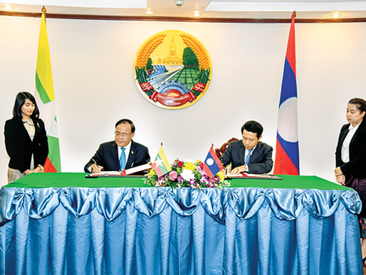 Lao PDR Laos donates US$ 50,000 for humanitarian assistance in Rakhine State