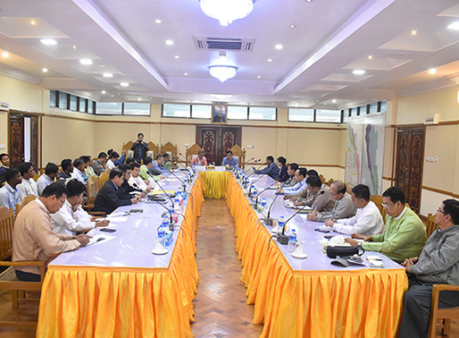 Progress on ICOE recommendations for Rakhine reviewed in Sittway