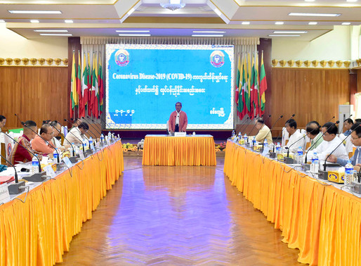 Rakhine State government holds coordination meeting over Covid-19
