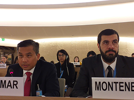 Representative responded to the Special Rapporteur on Human Right