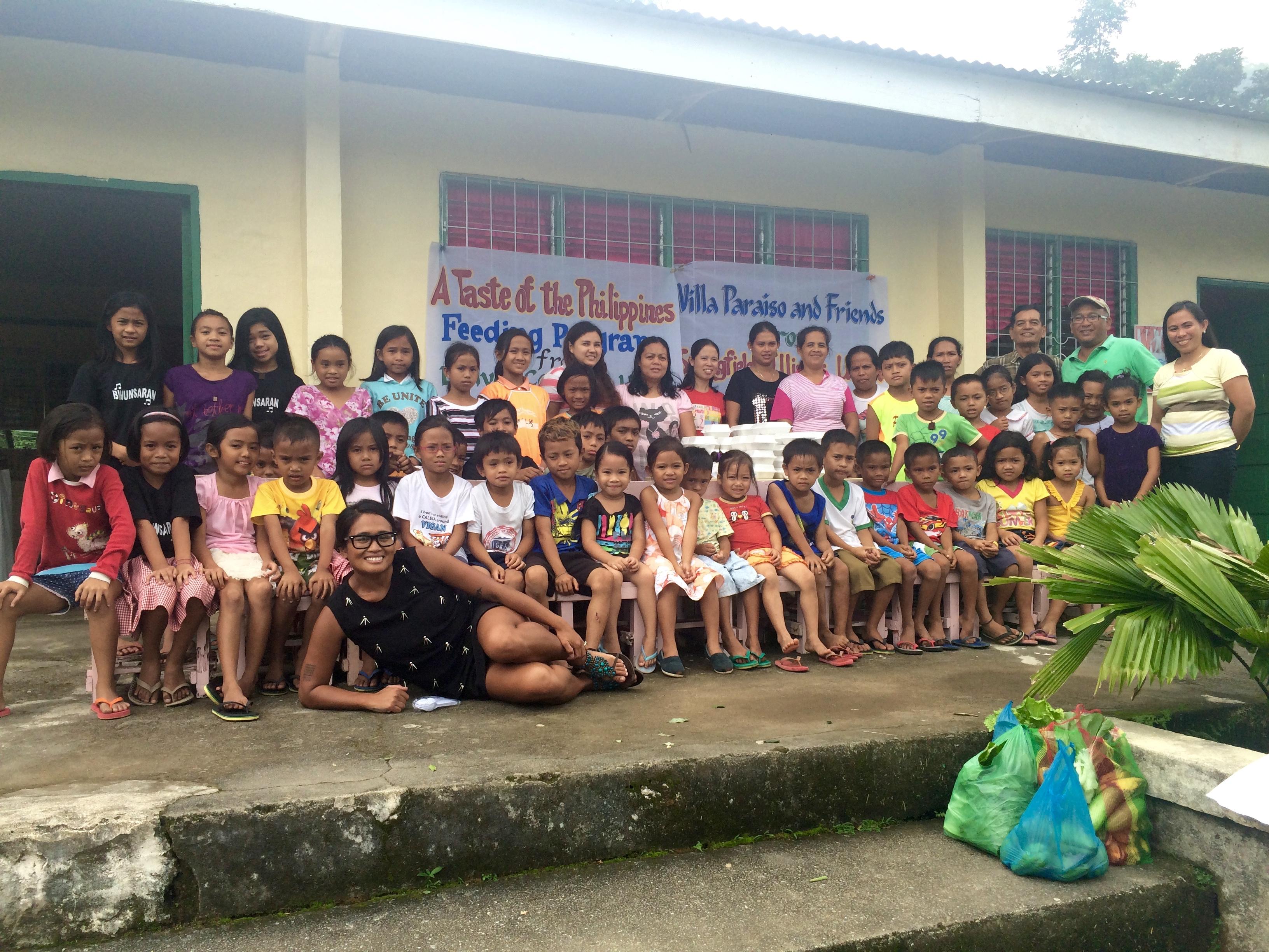 Feeding Program In the Philippines
