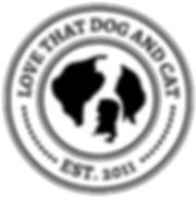 Love That Dog & Cat Logo