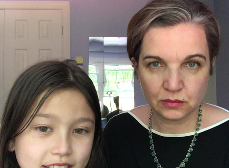 My Daughter, Sophia, Interviews Me About My Practice