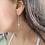 Thumbnail: עגילי שרשרת עין כחולה
