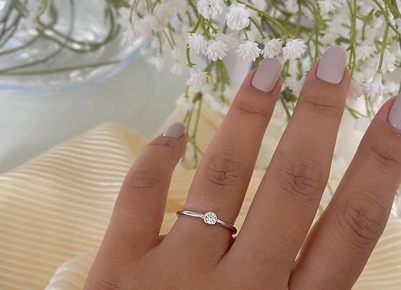 טבעת עיגול דקה