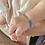 Thumbnail: צמיד מקרמה עבודת יד שם הילד