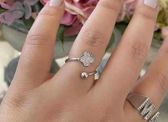 טבעת תלתן דקה