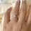 Thumbnail: טבעת בגט מלבנית