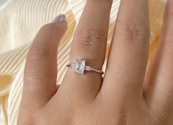 טבעת בגט מלבנית