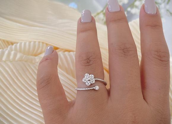 טבעת פרח פריי