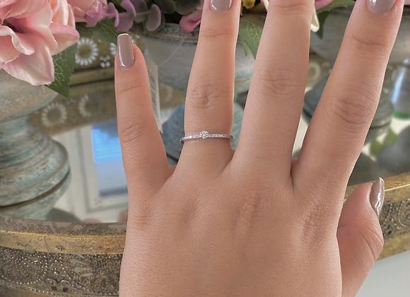 טבעת סוליטר דקה לי