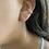 Thumbnail: עגיל שרשרת פלטה נופלת