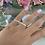 Thumbnail: טבעת שם כפולה