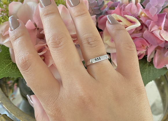 טבעת פטנט 955
